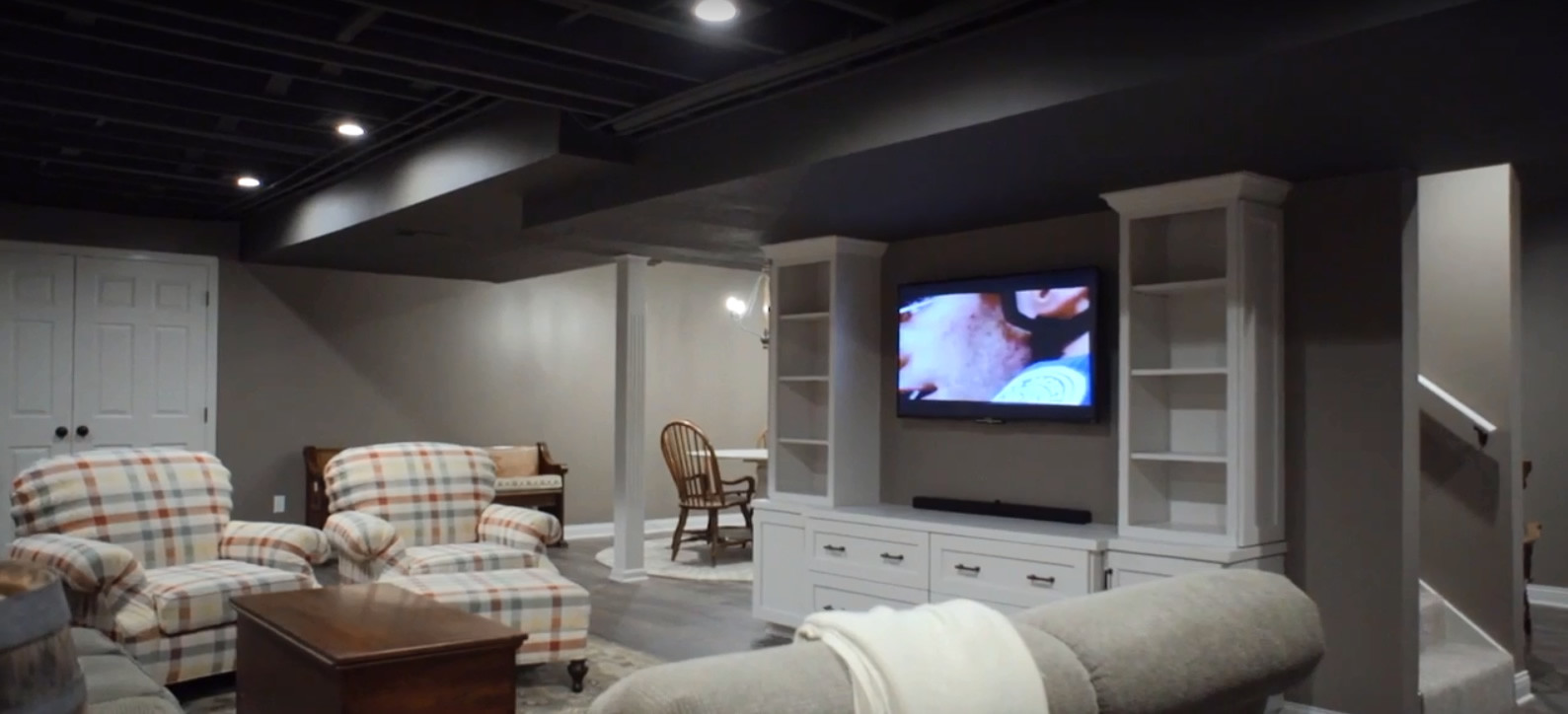 Image of: Ideas For Basement Renovation Snap Goods