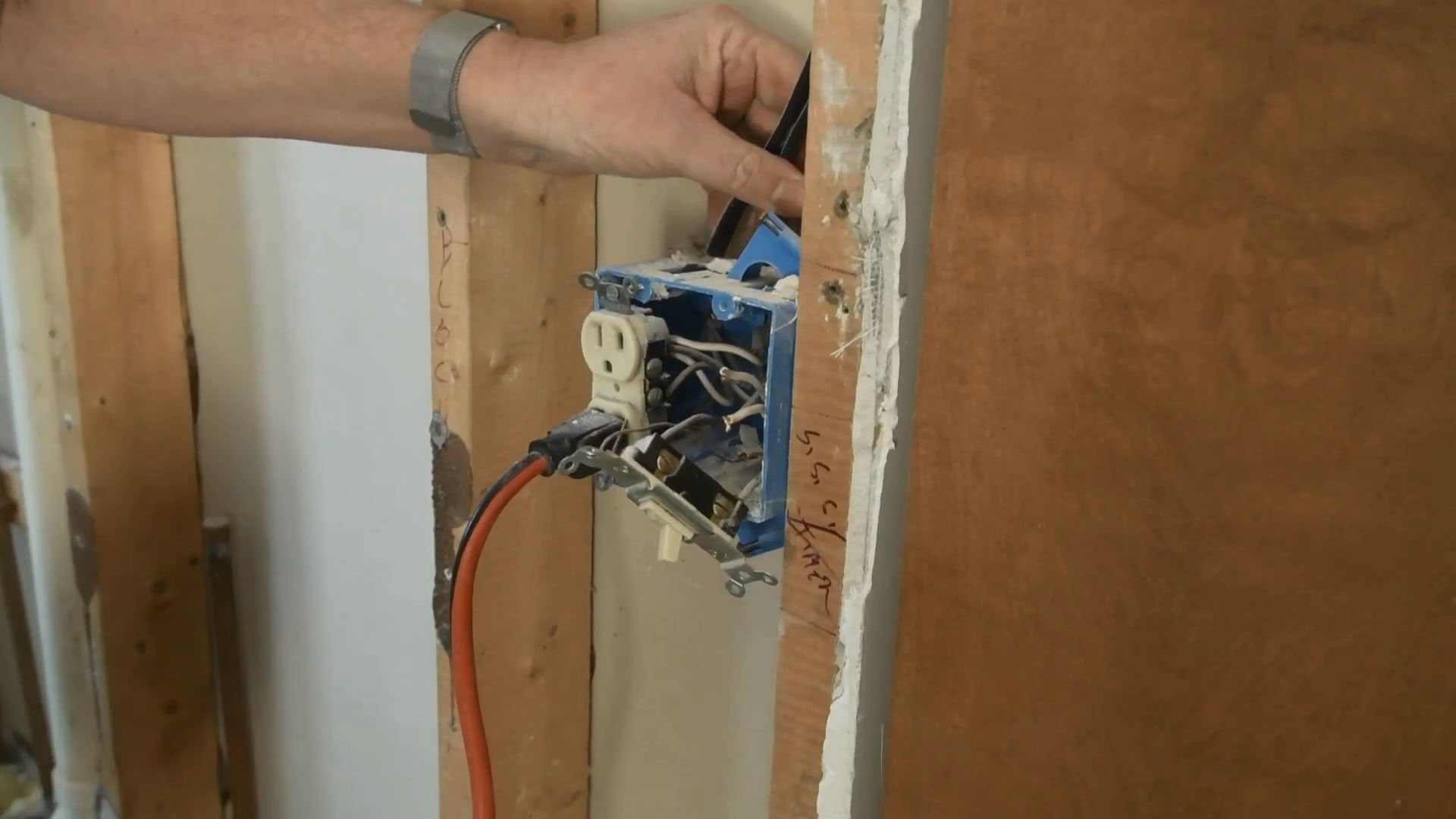 How To Wire A Bathroom Snap Goods Cable Wiring Installation